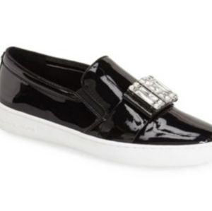 #SALE#Bejeweled with Michael Kors! Patent Slip Ons